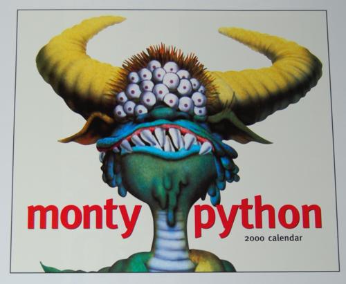Monty python sings 2000 calendar x