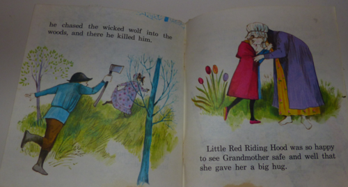 Little red tell a tale 6