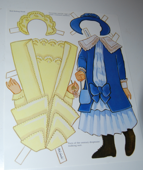 Little red riding hood paper dolls 3