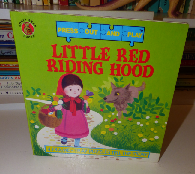 see red ~ little red riding hood puzzles