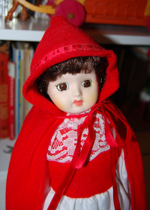 Little red riding hood musical doll 2