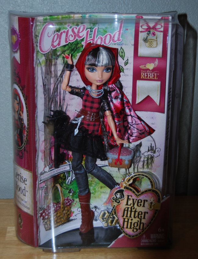 ever after cerise hood doll