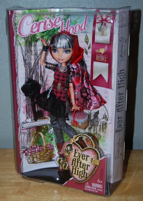 Ever after doll cerise hood 2