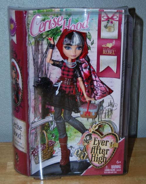 Ever after doll cerise hood x