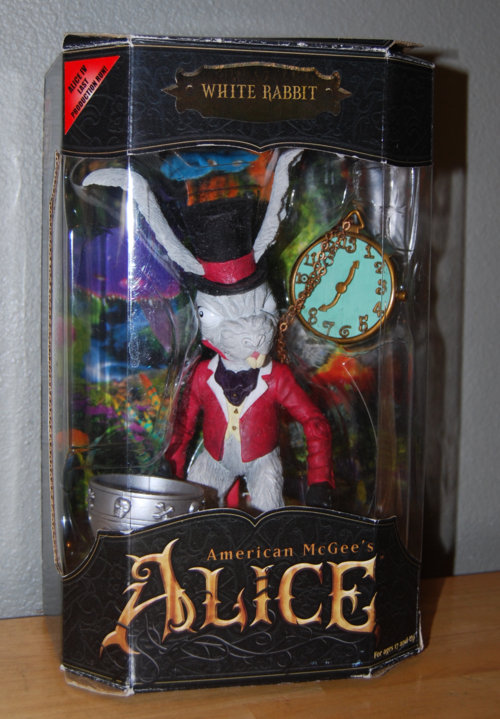 American mcgee alice red rabbit