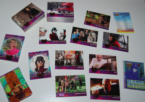 Charlie & the chocolate factory cards 11