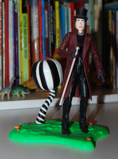 Willy wonka figure