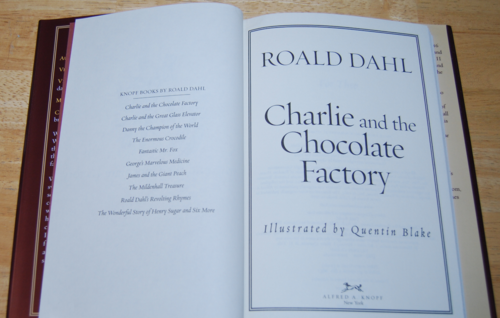 Roald dahl books charlie & the chocolate factory 2