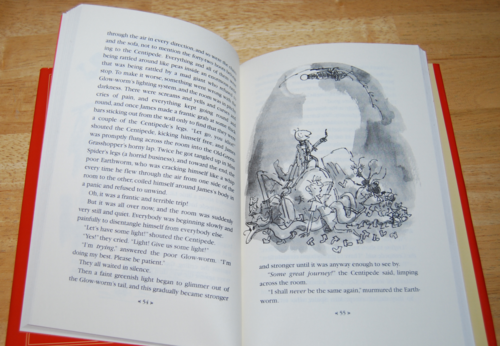 Roald dahl books james & the giant peach 3