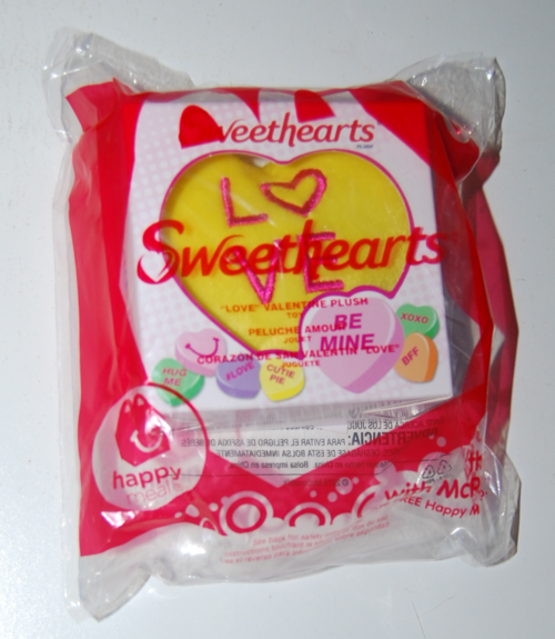 Sweethearts plush happy meal toy 4