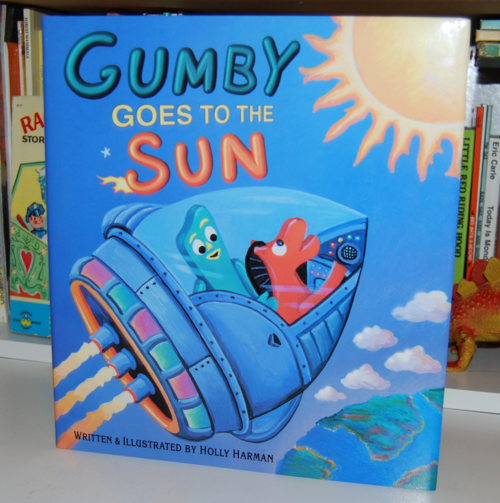 Gumby goes to the sun book