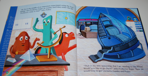 Gumby goes to the sun book 6