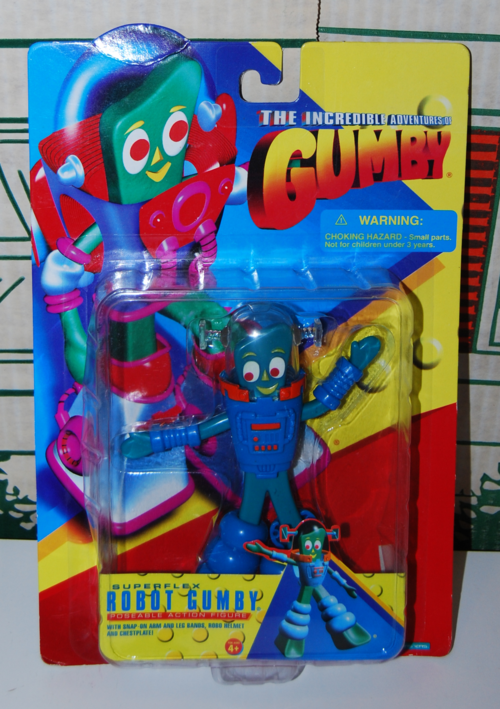 Robot gumby