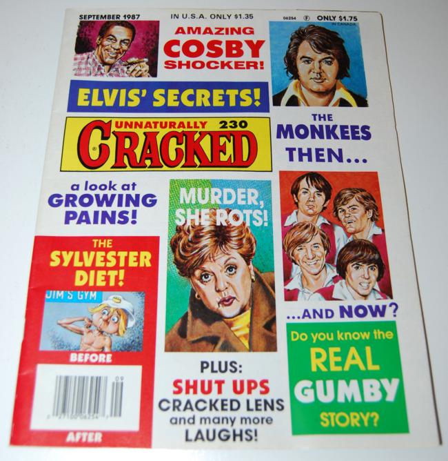 cracked magazine ~ september 1987