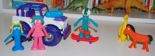 Gumby skateboarder playset 2 (2)