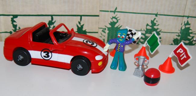 gumby racecar playset