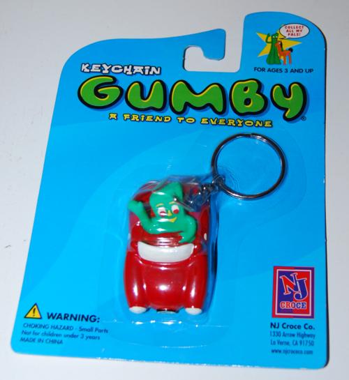 Gumby keychain moc nj croce 2002