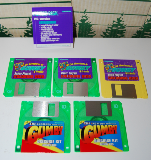 Gumby disks