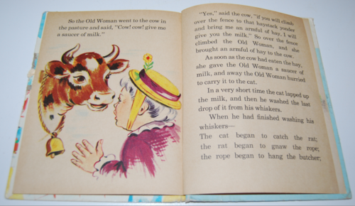 The old woman & her pig elf book 7