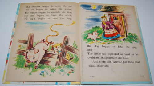 The old woman & her pig elf book 8