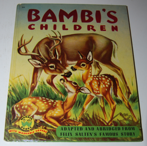 Bambi's children wonder book