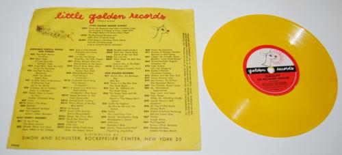 Vintage golden records for children x