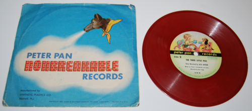 Vintage peter pan records for children x