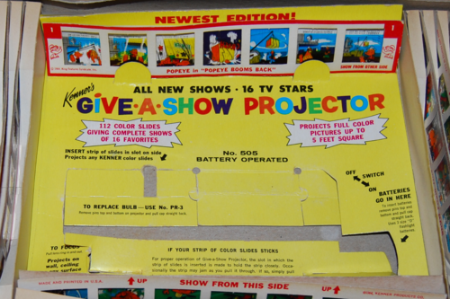 Kenner give a show projector 2