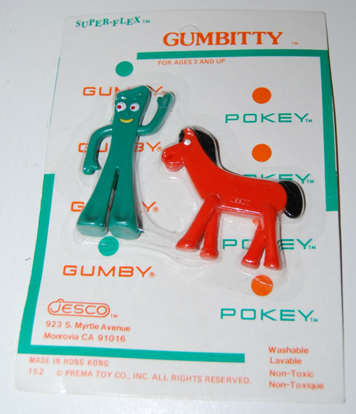 Gumby superflex gumbitty toys jesco prema