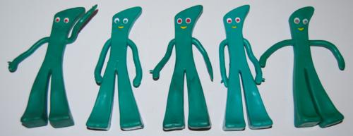 Vintage jesco gumby toys