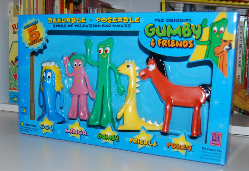 Gumby & friends bendy set