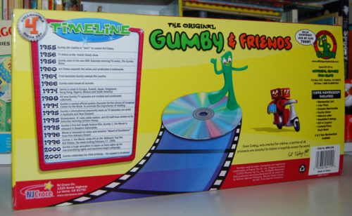 Gumby bendys & dvd set 1