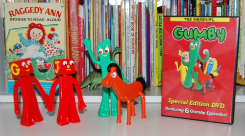 Gumby bendys & dvd set 3