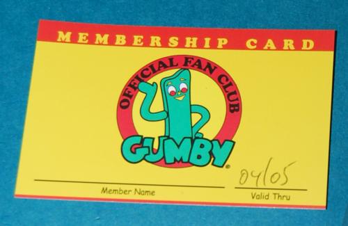 Gumby fan club 5