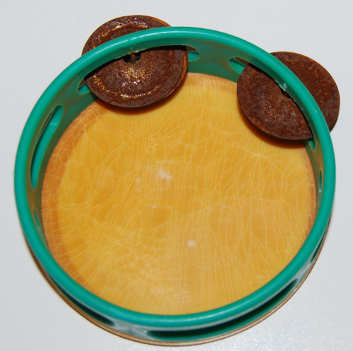 Gumby tamborine toy prema 1988 x