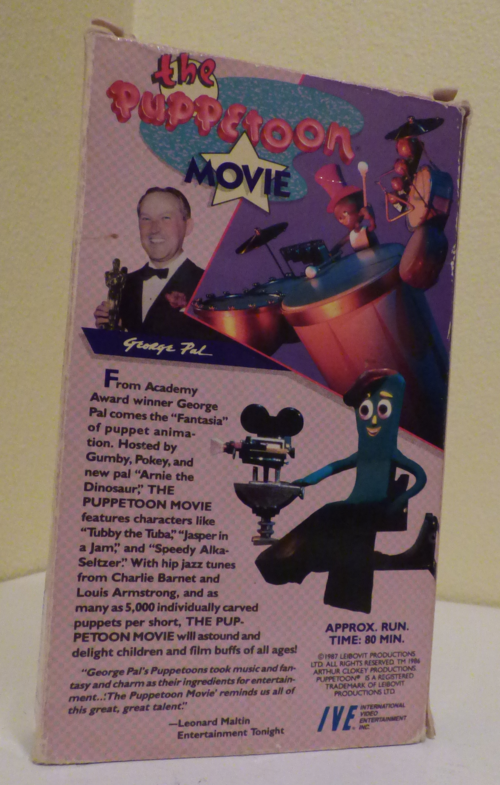 The puppetoon movie vhs x