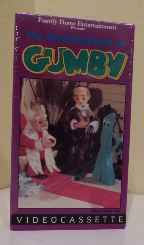 The misadventures of gumby vhs