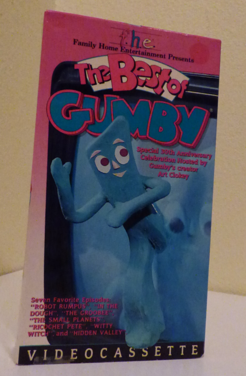 The best of gumby vhs