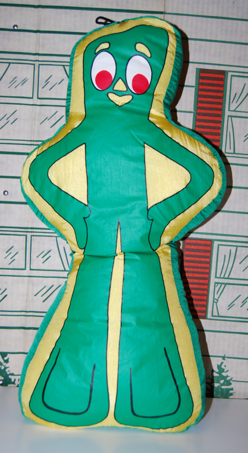 Gumby pillow 2