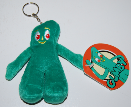 Gumby keychains plush