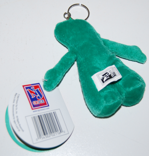 Gumby keychains plush x