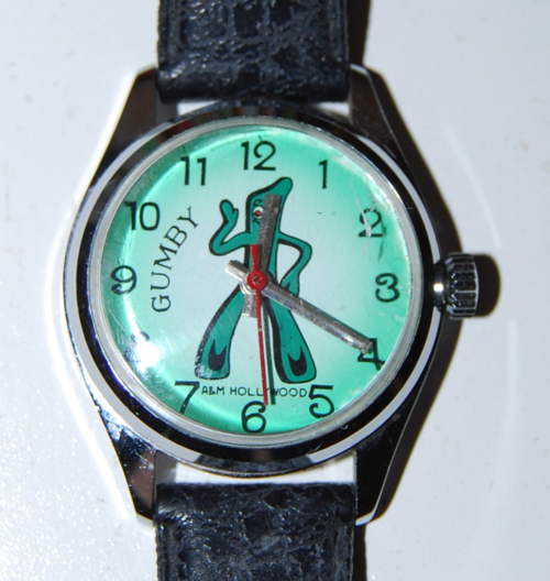 Vintage gumby watch 1