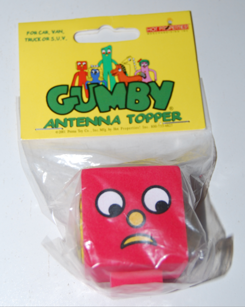 Blockhead antenna topper
