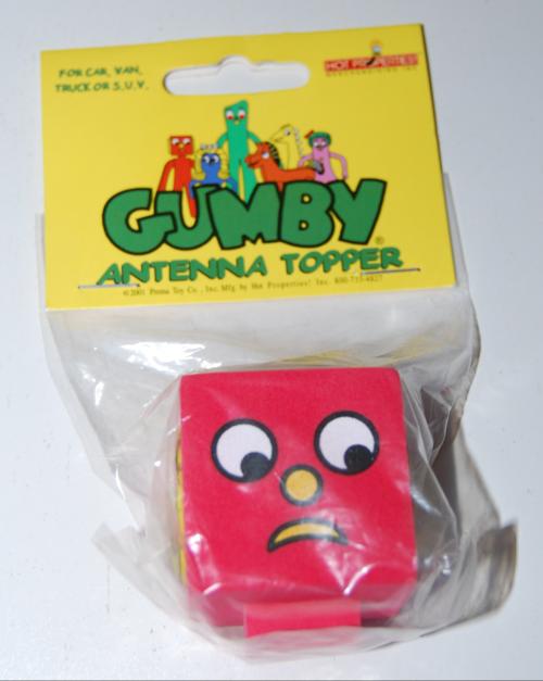 Blockhead antenna topper