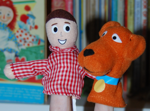 Davey & goliath finger puppets 4