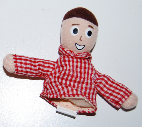 Davey & goliath finger puppets 2