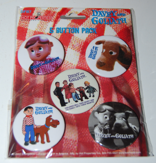 Davey & goliath buttons