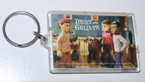 Davey & goliath keychain
