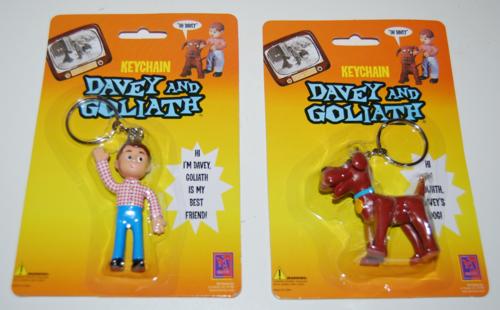Davey & goliath keychains