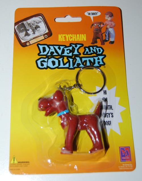 Davey & goliath keychain 1
